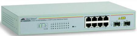 Фото Коммутатор Allied Telesyn AT-GS950/8 8-port 10/100/1000TX WebSmart switch with 2 SFP bays. Купить в РФ