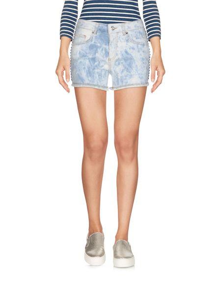 Фото FORNARINA Джинсовые шорты. Купить с доставкой