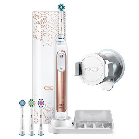Купить Электрическая зубная щетка Braun Oral-B Genius 9000/D701.545.6XC Rose Gold