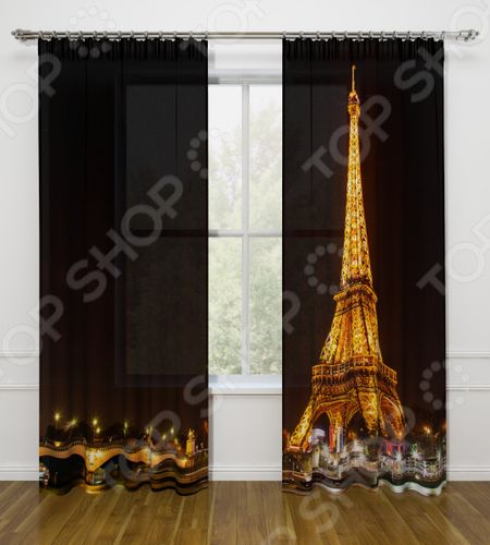 Фотошторы Стильный дом «Ночной Париж» «Ночной Париж»