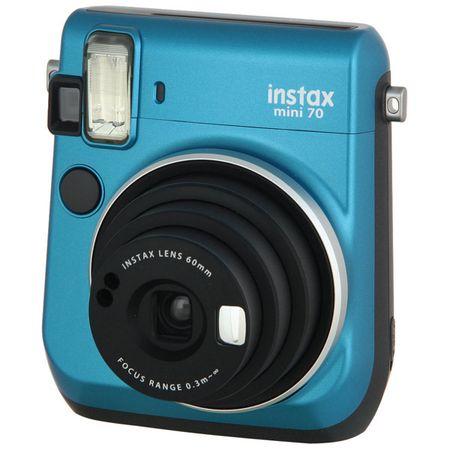 Купить Фотоаппарат моментальной печати Fujifilm Instax Mini 70 Blue
