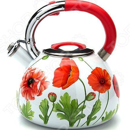 Здесь можно купить MB-23855  Чайник со свистком Mayer&Boch MB-23855 <![CDATA[Чайники со свистком и без свистка]]>
