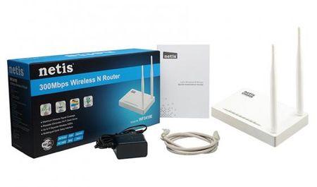 Фото Беспроводной маршрутизатор Netis WF2419E 802.11n 300Mbps 2.4ГГц 4xLAN. Купить в РФ