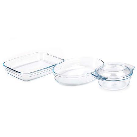 Купить Форма для выпекания (стекло) Pyrex Original 3шт. (818S3)