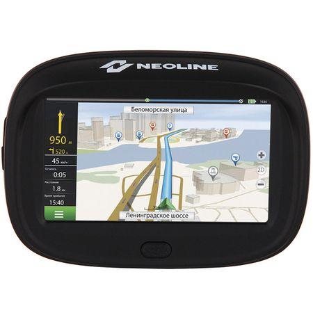 Купить Портативный GPS-навигатор Neoline Moto 2 + ПО Навител