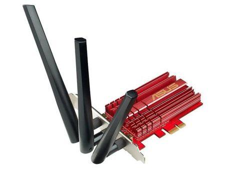 Фото Беспроводной PCI-E адаптер ASUS PCE-AC68 802.11ac 2.4 или 5ГГц. Купить в РФ