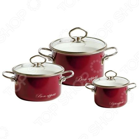 Здесь можно купить Bon appetit №03  Набор кастрюль Vitross Bon appetit №03 <![CDATA[Наборы посуды для готовки]]>