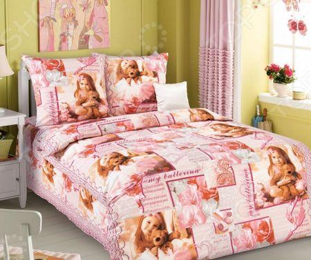 Детский комплект постельного белья Бамбино «Балерина» «Балерина»