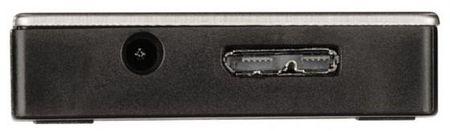 Фото Концентратор USB 3.0 HAMA H-54544 4 х USB 3.0 серебристый черный. Купить в РФ