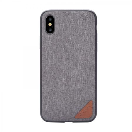 Накладка Devia Acme Case для iPhone X - Gray