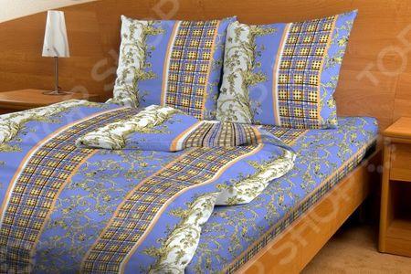 Комплект постельного белья Fiorelly «Дворцовая клетка» «Дворцовая клетка»