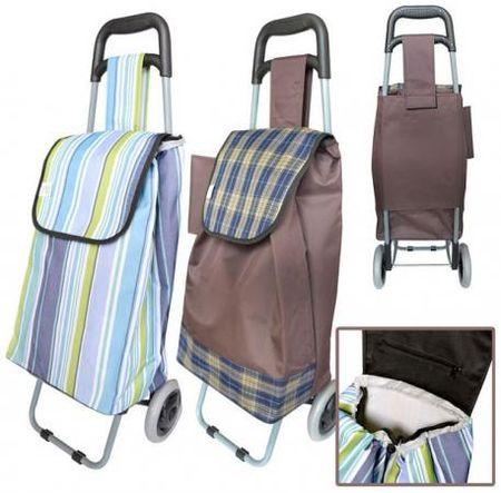 ac7c604ca68c Сумка-тележка хозяйственная,на колесиках, размер 33 x 20 x 55 см, ассорти 2  цвета