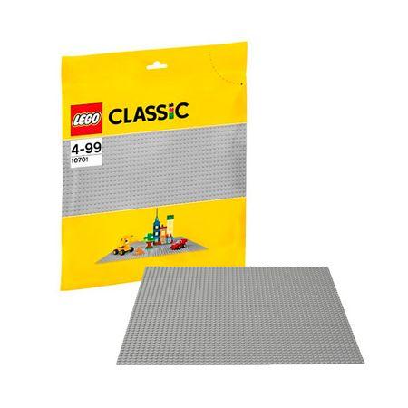 LEGO Lego Classic 10701 Конструктор Лего Классик Строительная пластина серого цвета