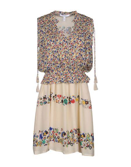 Фото DEREK LAM 10 CROSBY Короткое платье. Купить с доставкой