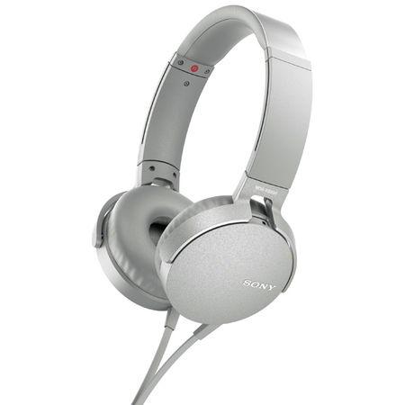 Купить Наушники накладные Sony XB550AP Extra Bass White (MDRXB550APWC(Е))