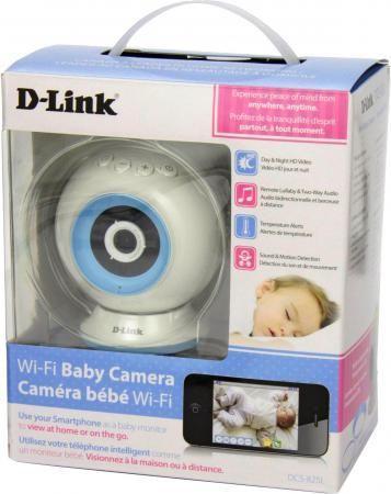 """Фото Камера IP D-Link DCS-825L CMOS 1/4"""" 1280 x 720 H.264 Wi-Fi белый. Купить в РФ"""