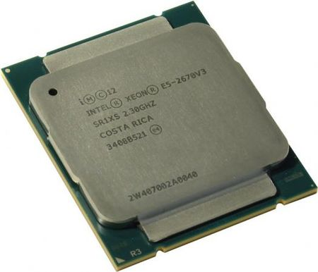 Процессор Dell Intel Xeon E5-2670v3 2.5GHz 25Mb 338-BFCI