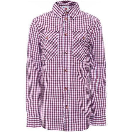 184c97e49f6 Рубашка для мальчика BUTTON BLUE Клетчатая рубашка - яркий акцент  повседневного образа ребенка. Купить рубашку для мальчика стоит ранней  весной