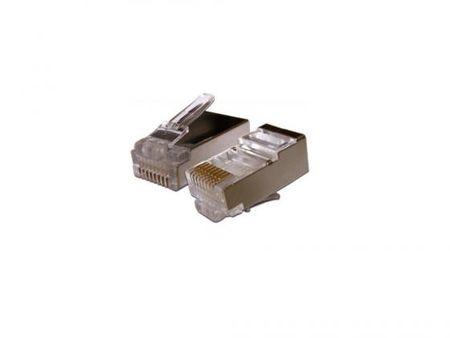 Фото Упаковка коннекторов RJ-45 FTP 5e 8P8C 100шт. Купить в РФ