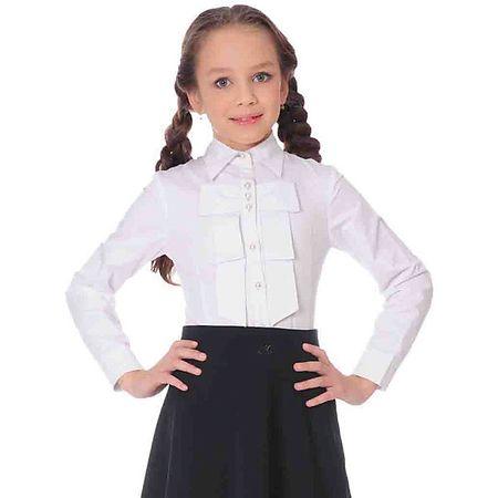 baffc05eb4b Блузка для девочки Анфиса от известного бренда Skylake. Блузка прилегающего  силуэта для девочек младшего и среднего школьного возраста.