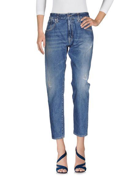 Фото (+) PEOPLE Джинсовые брюки. Купить с доставкой
