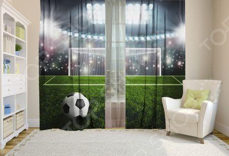 Шторы детские ТамиТекс «Футбол» «Футбол»