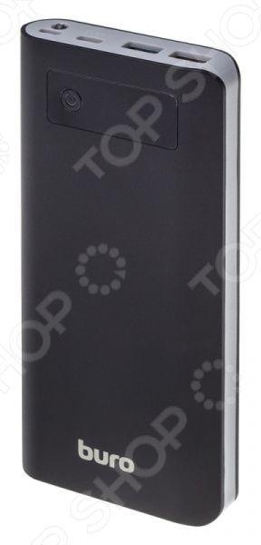 Аккумулятор внешний BURO RB-20000-LCD-QC3.0-I&O RB-20000-LCD-QC3.0-I&O