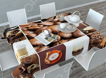 Фотоскатерть Сирень «Кофейная тематика» «Кофейная тематика»