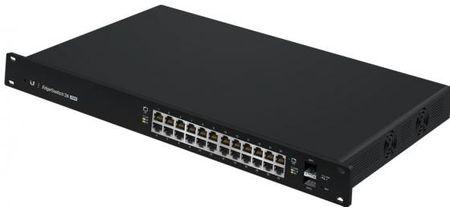 Фото Коммутатор Ubiquiti EdgeSwitch 24 500W управляемый L2 24 порта 10/100/1000Mbps PoE(500W) 2xSFP ES-24-500W(EU). Купить в РФ