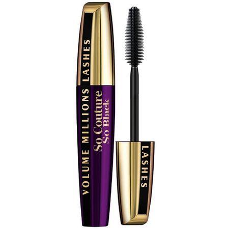 L'Oreal Paris Volume Million So Couture So Black Тушь для ресниц для объема и разделения Экстрачерная