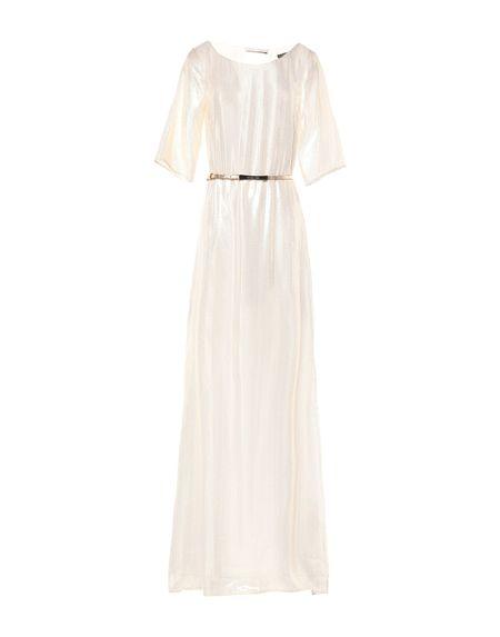 Фото PATRIZIA PEPE SERA Длинное платье. Купить с доставкой