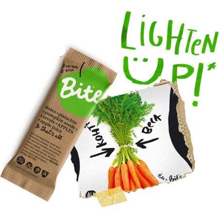 Батончик BITE Контроль веса финики - тыквенные семечки - яблоко - морковь, 45 г