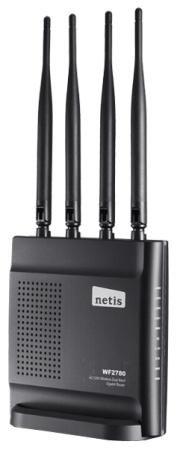 Фото Беспроводной маршрутизатор Netis WF2780 802.11ac 1200Mbps 2.4/5ГГц 4xLAN. Купить в РФ