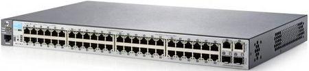 Фото Коммутатор HP 2530-48 управляемый 48 портов 10/100Mbps 2x10/100/1000Mbps 2xSFP J9781A. Купить в РФ