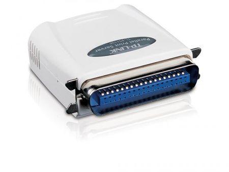 Фото Принт-сервер TP-LINK TL-PS110P, 1UTP 10/100Mbps, parallel port. Купить в РФ