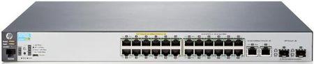 Фото Коммутатор HP 2530-24-PoE+ управляемый 24 порта 10/100Mbps 2xSFP PoE J9779A. Купить в РФ