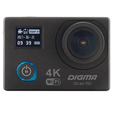 Купить Видеокамера экшн Digma DiCam 700 черный