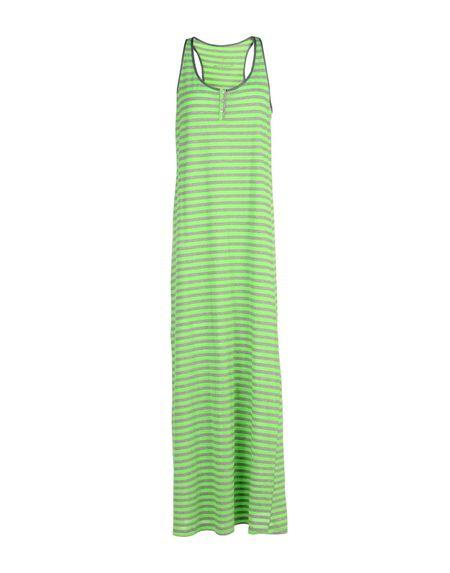 Фото MANILA GRACE DENIM Длинное платье. Купить с доставкой