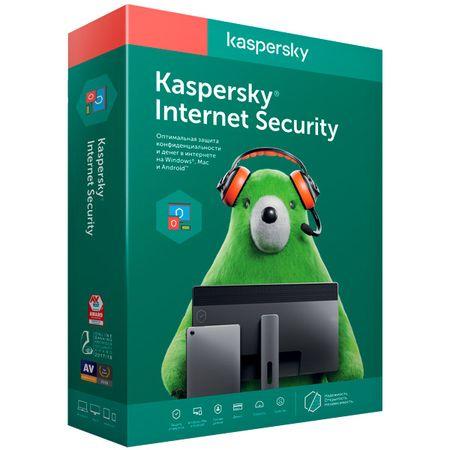 Антивирус Kaspersky Internet Security Продление 2 устройства на 1 год