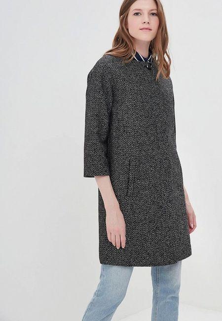 9452af112 Пальто La Reine Blanche. Цвет: серый. Сезон: Весна-лето 2018. С бесплатной  доставкой и примеркой на Lamoda.