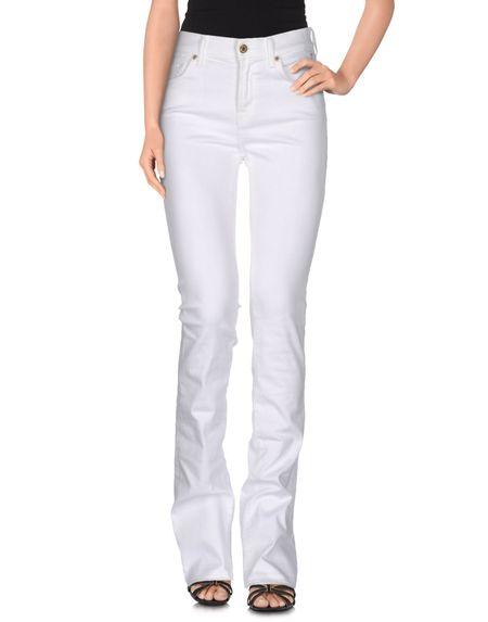 Фото 7 FOR ALL MANKIND Джинсовые брюки. Купить с доставкой