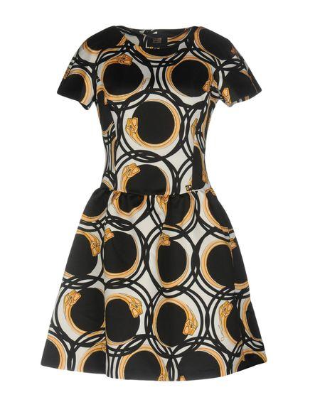 Фото CLASS ROBERTO CAVALLI Короткое платье. Купить с доставкой