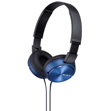 Купить Наушники накладные Sony MDR-ZX310 Blue