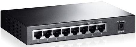 Фото Коммутатор TP-LINK TL-SF1008P неуправляемый 8 портов 10/100Mbps 4x15W PoE. Купить в РФ