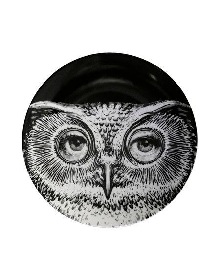 Фото FORNASETTI Декоративная тарелка. Купить с доставкой