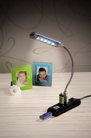 Фото Концентратор USB 2.0 HAMA H-54590 4 x USB 2.0 черный. Купить в РФ