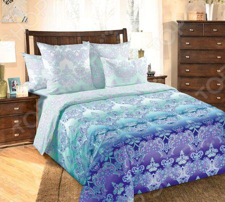 Здесь можно купить «Перелив»  Комплект постельного белья Королевское Искушение «Перелив» <![CDATA[Евро]]>