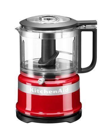 KitchenAid Комбайн кухонный мини (0.83 л), 22.2х17.8х14.3 см, красный