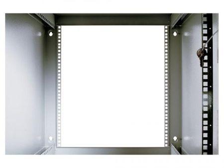 Фото Шкаф настенный разборный 18U ЦМО ШРН-Э-18.650 600x650mm дверь стекло серый. Купить в РФ