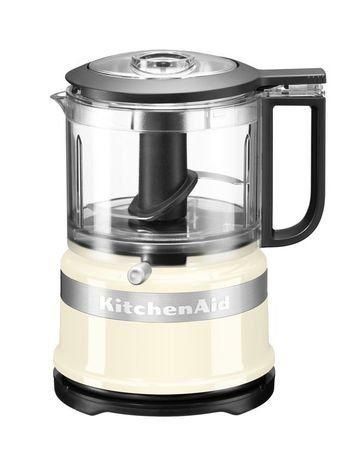 KitchenAid Комбайн кухонный мини (0.83 л), 22.2х17.8х14.3 см, кремовый